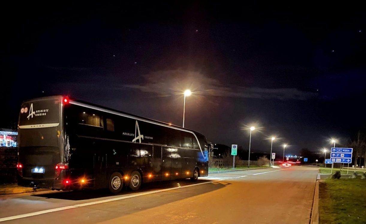en tournée avec Absolute Touring France